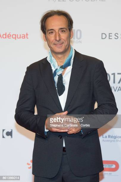Alexandre Desplat attends the Opening Ceremony of the 9th Film Festival Lumiere on October 14 2017 in Lyon France