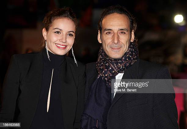 Alexandre Desplat attends the UK Premiere of 'Rise of the Guardians' at Empire Leicester Square on November 15 2012 in London England