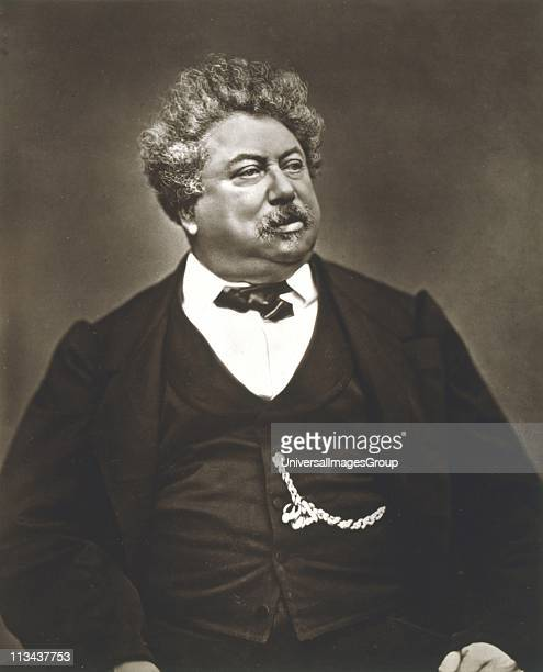 Alexandre Dumas the Elder French novelst and playwright Photograph by Carjat