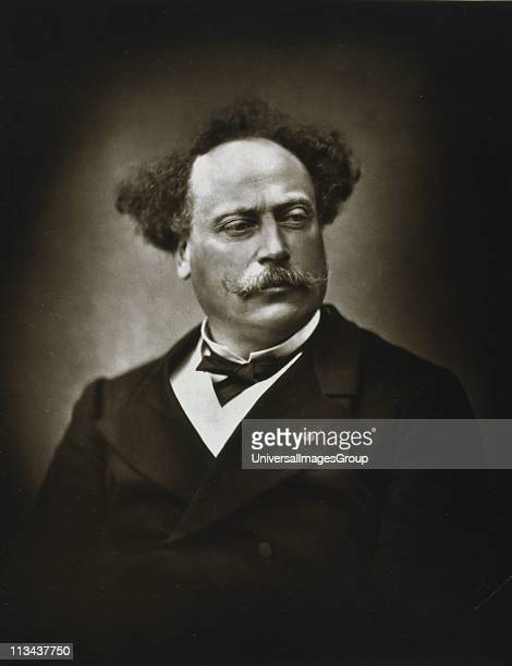 Alexandre Dumas the Younger French writer His novel La dame aux camelias was the basic story for Verdi's opera La Traviata Photograph by Fontaine