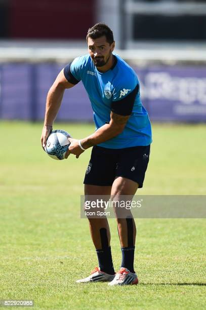 Alexandre DUmoulin of Montpellier during the training session of Montpellier on July 25 2017 in Montpellier France
