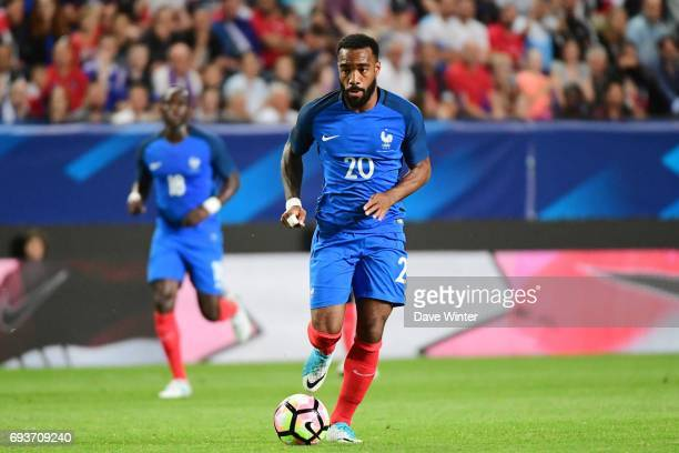 Alexandre Lacazette of France during the soccer friendly match between France and Paraguay at Roazhon Park on June 2 2017 in Rennes France