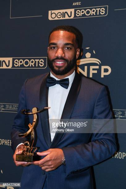 Alexandre Lacazette of Lyon during the ceremony for the UNFP Trophy Awards on May 15 2017 in Paris France