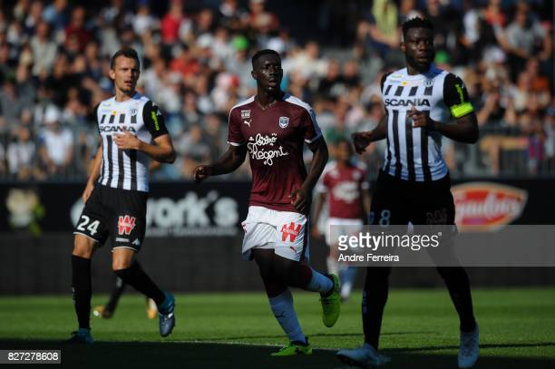 Alexandre Mendy of Bordeaux during the Ligue 1 match between Angers SCO and FC Girondins de Bordeaux at Stade Raymond Kopa on August 6 2017 in Angers