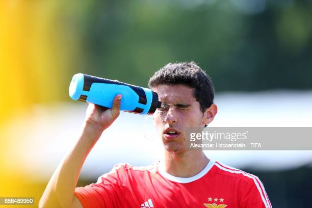 Alexandre Penetra of Benfica on day two of the Blue Stars/FIFA Youth Cup 2017 at the Buchlern sports complex on May 25 2017 in Zurich Switzerland