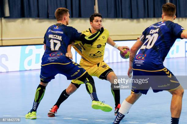Alexandre Tritta of Chambery during the Lidl Starligue match between Massy and Chambery on November 8 2017 in Massy France