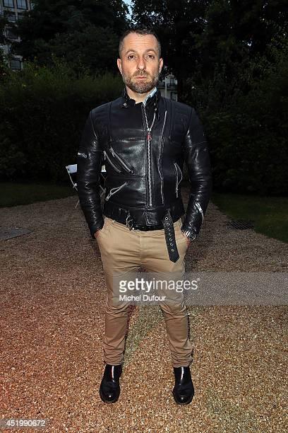 Alexandre Vauthier attends at 'Chambre Syndicale De La Haute Couture' Cocktail in Hotel Salomon de Rotschild in Paris on July 10 2014 in Paris France
