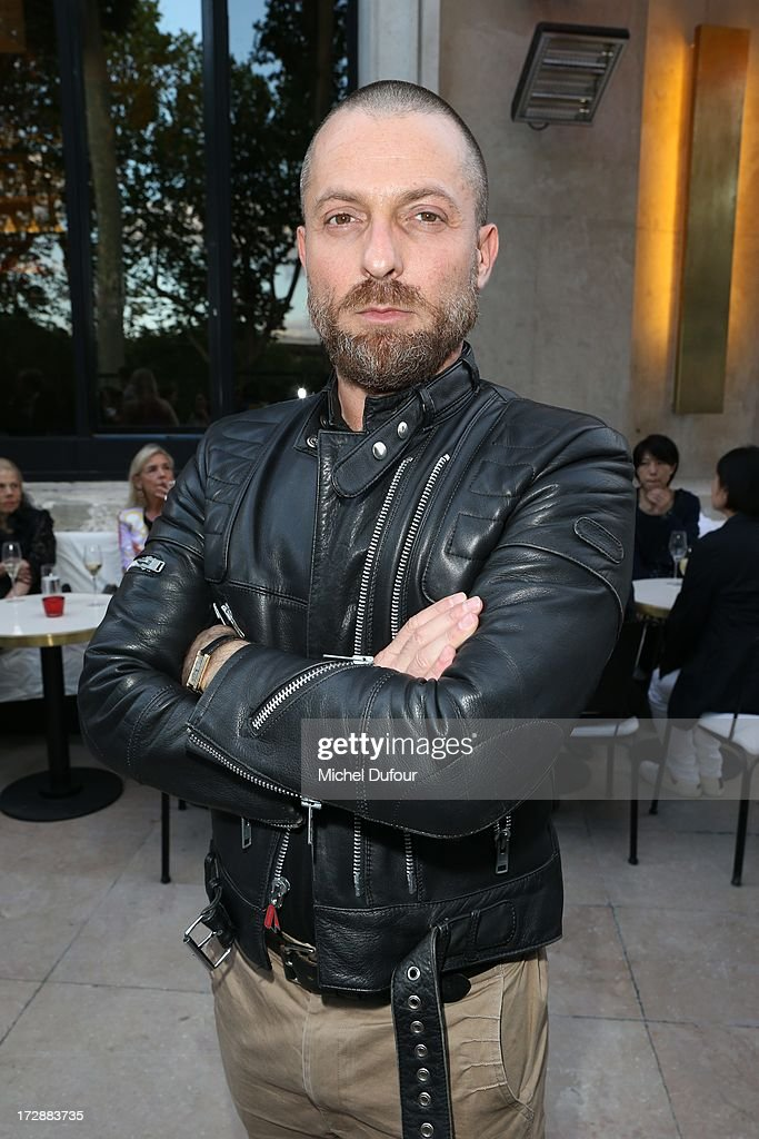 Alexandre Vauthier attends the Chambre Syndicale de la Haute Couture cocktail party at Palais De Tokyo on July 4, 2013 in Paris, France.