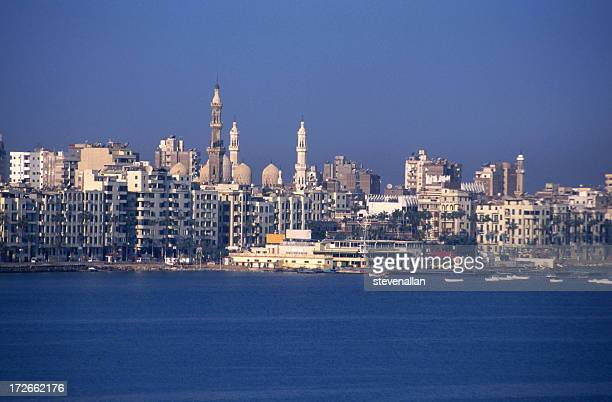 Alexandria city skyline during the day