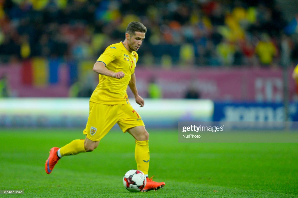 Alexandru Chipciu (Rom) during the International Friendly match between Romania and Netherlands at National Arena Stadium in Bucharest, Romania, on 14 november 2017.