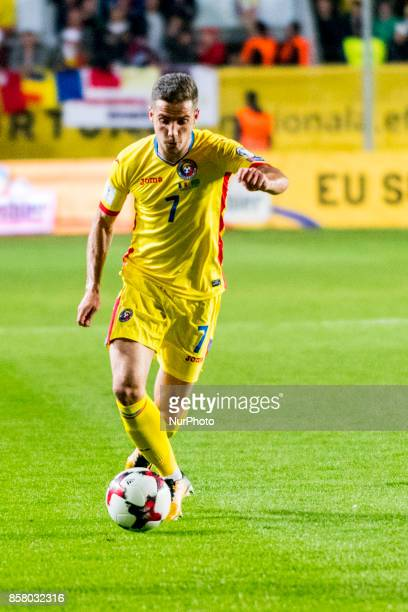Alexandru Chipciu during the World Cup qualifying campaign 2018 game between Romania and Kazakhstan at Ilie Oana Stadium Ploiesti Romania on 5...
