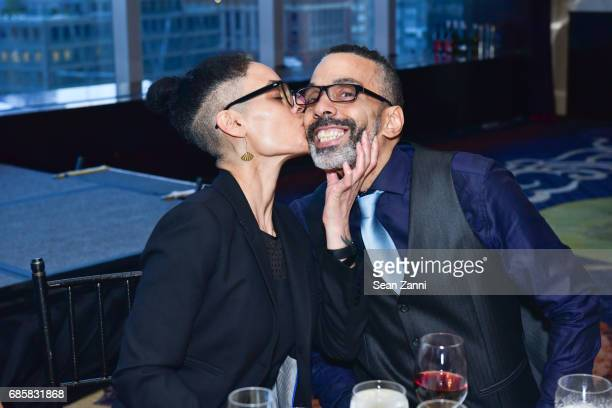 Alexei Setian and Che Carlotti attend The Boys' Club of New York Annual Awards Dinner at Mandarin Oriental Hotel on May 17 2017 in New York City