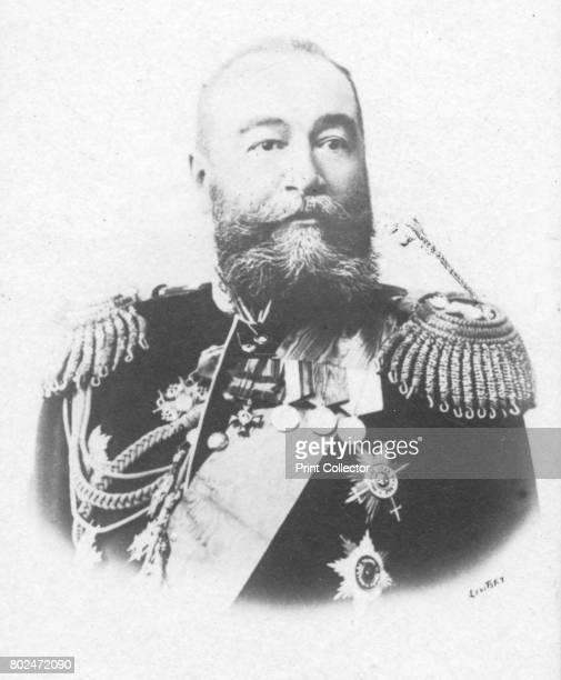 Alexeieff' c1893 Yevgeni Ivanovich Alexeieff admiral in the Imperial Russian Navy Russian Viceroy in the Far East From the 2e collection [Felix Potin...