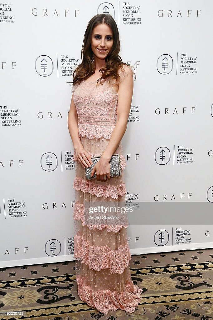 Alexi Ashe attends the 7th Annual Society Of Memorial Sloan Kettering Spring Ball at The Waldorf=Astoria on May 13, 2014 in New York City.