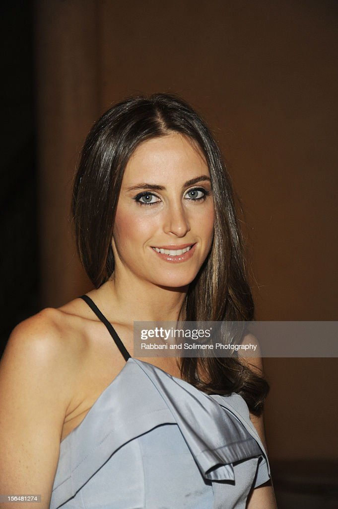 Alexi Ashe attends the cocktail party prior to the 2012 Apollo Circle Benefit at the Metropolitan Museum of Art on November 15, 2012 in New York City.