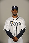 Alexi Casilla of the Tampa Bay Rays poses during Photo Day on Friday February 27 2015 at Charlotte Sports Park in Port Charlotte Florida