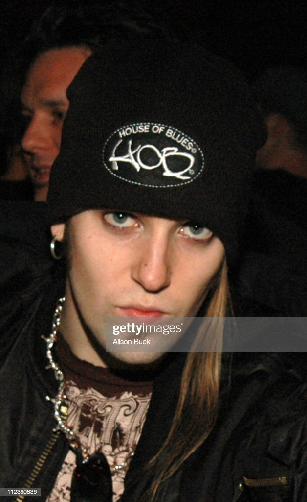 Alexi Laiho of Children of Bodom during AFI's Music Documentary Series Presented by Audi Screening of 'Metal A Headbanger's Journey' at ArcLight...