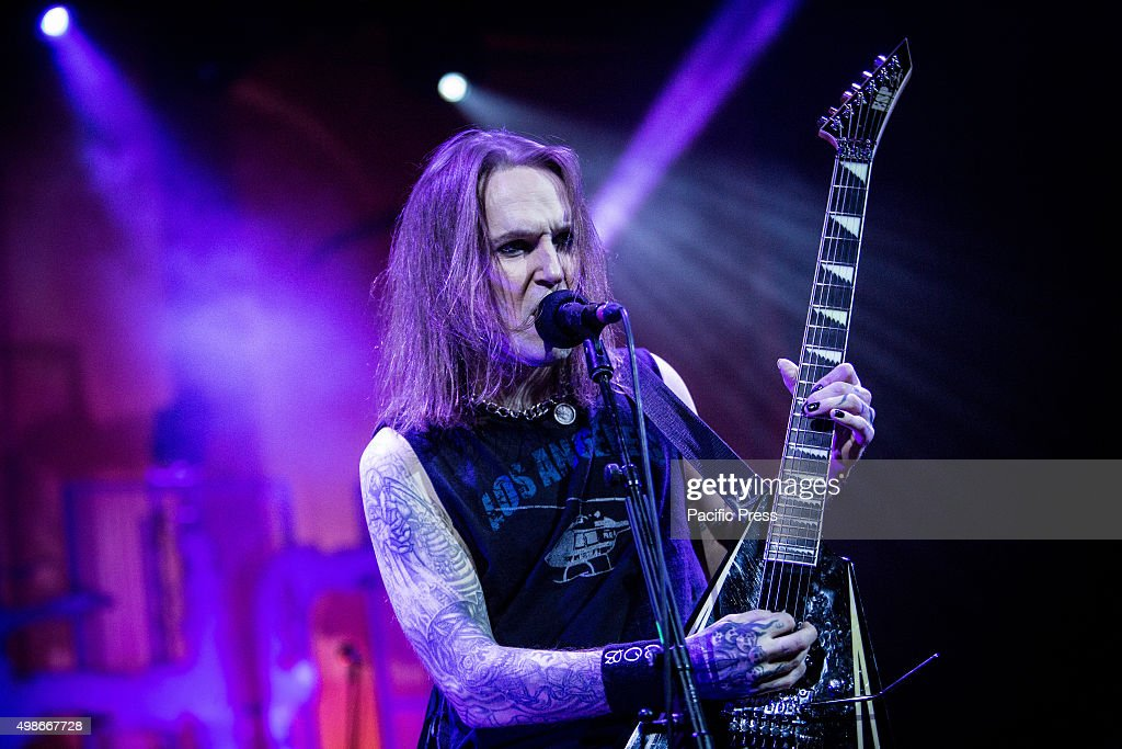 Alexi Laiho of Children of Bodom performs live at Alcatraz