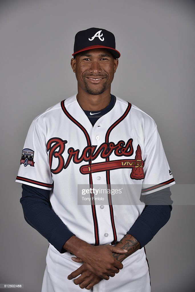 <a gi-track='captionPersonalityLinkClicked' href=/galleries/search?phrase=Alexi+Ogando&family=editorial&specificpeople=6889214 ng-click='$event.stopPropagation()'>Alexi Ogando</a> #40 of the Atlanta Braves poses during Photo Day on Friday, February 26, 2016 at Champion Stadium in Lake Buena Vista, Florida.