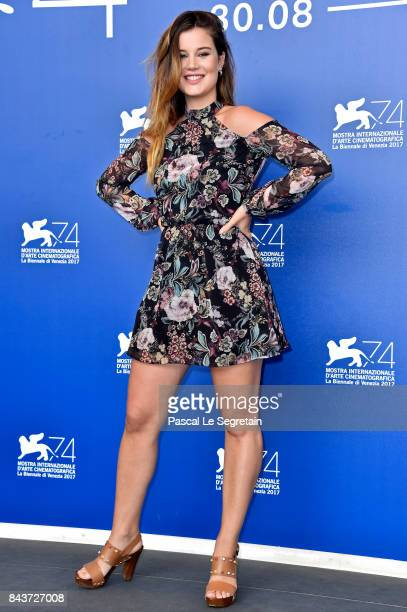 Alexia Chardard attends the 'Mektoub My Love Canto Uno' photocall during the 74th Venice Film Festival at Sala Casino on September 7 2017 in Venice...