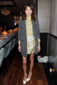 Alexia Chung attends Christian Siriano private dinner and after party during MercedesBenz Fashion Week Fall 2014 at KOI Soho on February 8 2014 in...