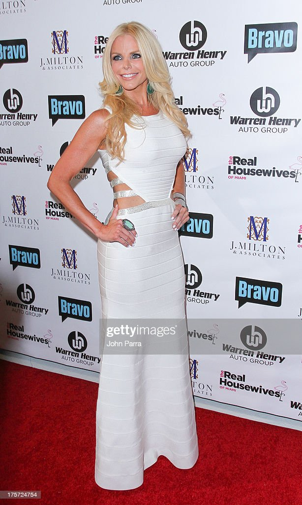 Alexia Echevarria attends The Real Housewives of Miami Season 3 Premiere Party on August 6, 2013 in Miami, Florida.