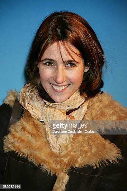 Alexia Laroche Joubert arrives at the premiere of 'Les Bronzes 3' in Paris