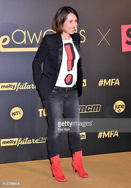 Alexia Laroche Joubert attends The Melty Future Awards 2016 at Le Grand Rex on February 16 2016 in Paris France