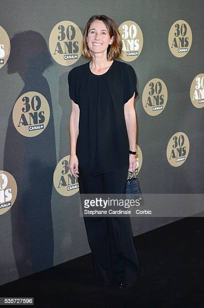 Alexia LarocheJoubert attends the 30 Th Anniversary of Canal at Palais de Tokyo in Paris