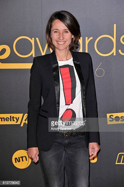 Alexia LarocheJoubert attends The Melty Future Awards 2016 at Le Grand Rex on February 16 2016 in Paris France