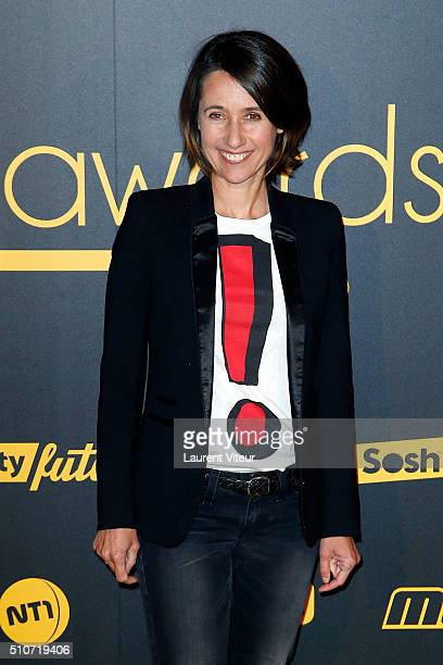 Alexia LarocheJoubert attends The Melty Future Awards 2016 Ceremony at Le Grand Rex on February 16 2016 in Paris France