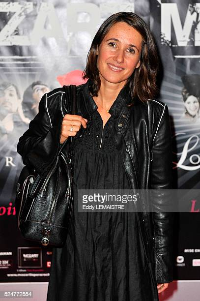 Alexia LarocheJoubert attends the premiere of 'Mozart l'Opera Rock' in Paris