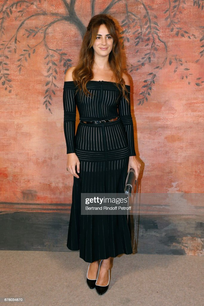 Alexia Niedzelski attends the Chanel Cruise 2017/2018 Collection Show at Grand Palais on May 3, 2017 in Paris, France.
