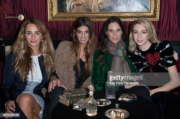 Alexia Niedzielski Bianca Brandolini d'Adda Tatiana Santo Domingo and Sabine Ghanem attend the Sabine Ghanem New Jewellery Collection launch at the...