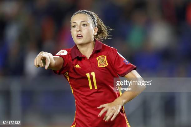 Alexia Putellas of Spain women during the UEFA WEURO 2017 Group D group stage match between England and Spain at the Rat Verlegh stadium on July 23...
