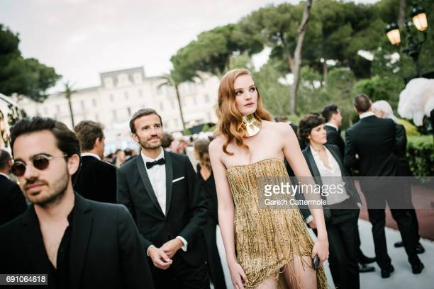 Alexina Graham attends the amfAR Gala Cannes 2017 at Hotel du CapEdenRoc on May 25 2017 in Cap d'Antibes France