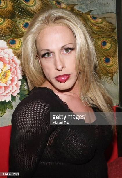 Alexis Arquette during 'Crank' Los Angeles Premiere After Party at Tokio in Hollywood California United States