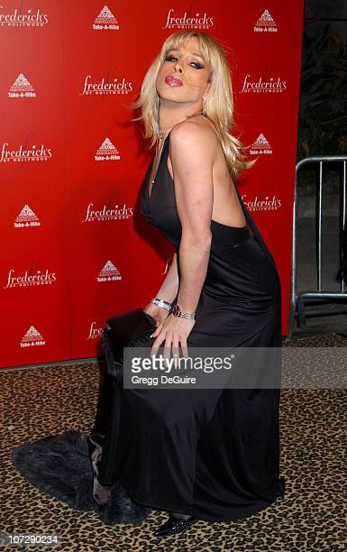 Alexis Arquette during Smashbox Fashion Week Los Angeles Frederick's of Hollywood Fashion Show Fall 2003 Collection to benefit Expedition Inspiration...