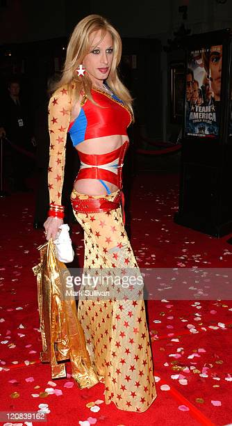 Alexis Arquette during 'Team America World Police' Los Angeles Premiere at Grauman's Chinese Theater in Hollywood California United States