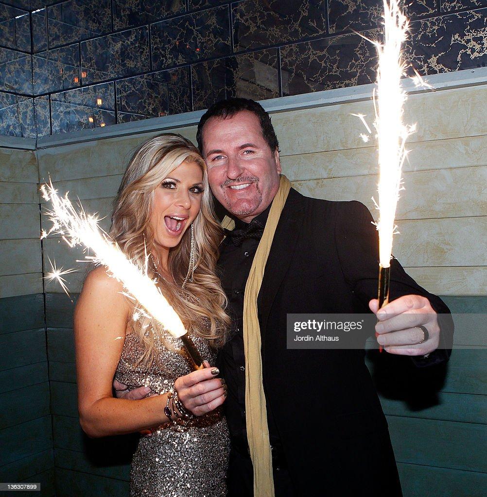 Alexis Bellino and Tamara Barney Host - CIROC The New Year 2012