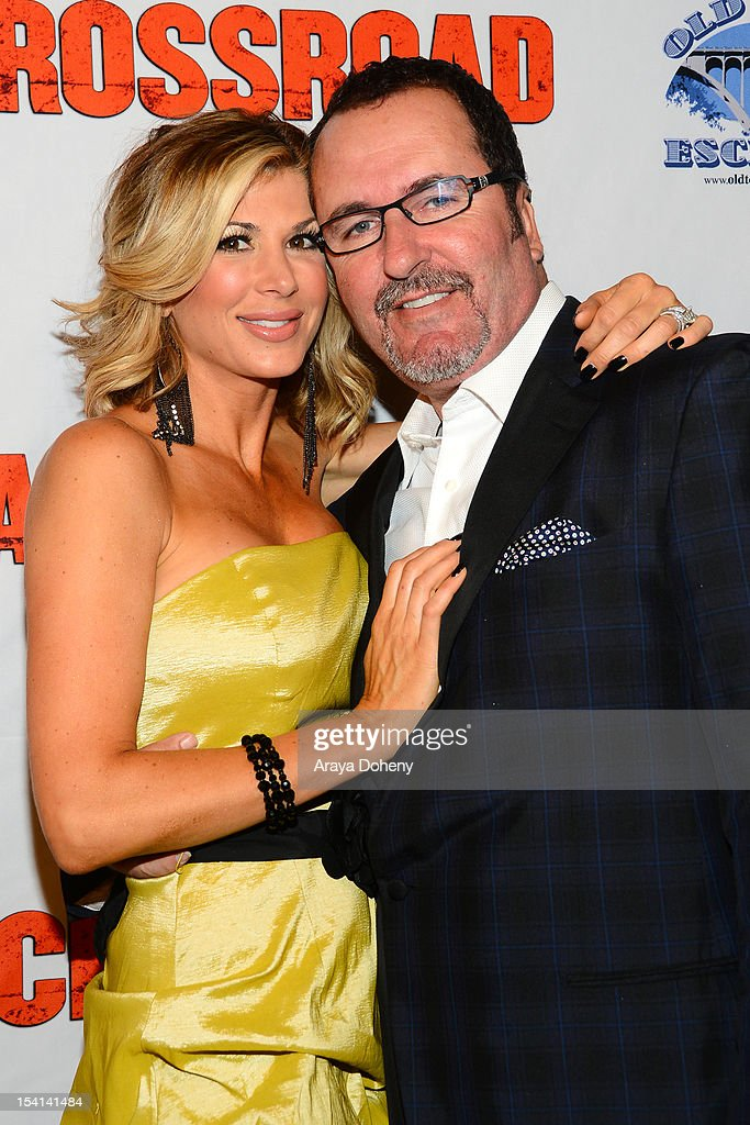 Alexis Bellino and Jim Bellino arrive at the 'Crossroad' world premmiere at Alex Theatre on October 14, 2012 in Glendale, California.