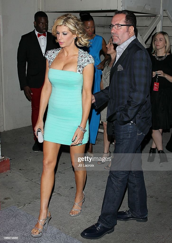 Alexis Bellino and Jim Bellino attend the Us Weekly's Annual Hot Hollywood Style Issue Party at The Emerson Theatre on April 18 2013 in Hollywood...