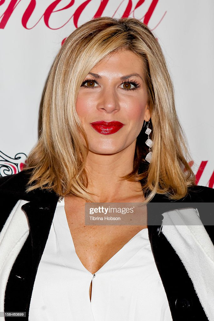 Alexis Bellino attends the Truehearts winter wonderland charity gala, benefiting Children's Hospital Los Angeles at Avalon on December 16, 2012 in Hollywood, California.
