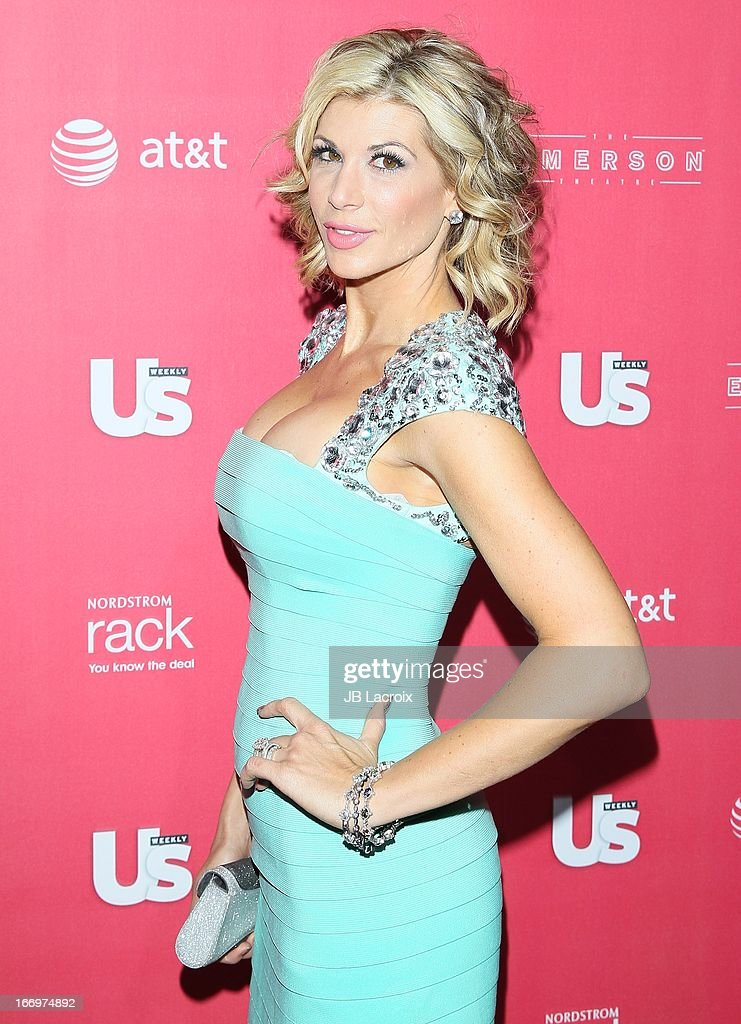 Alexis Bellino attends the Us Weekly's Annual Hot Hollywood Style Issue Party at The Emerson Theatre on April 18, 2013 in Hollywood, California.