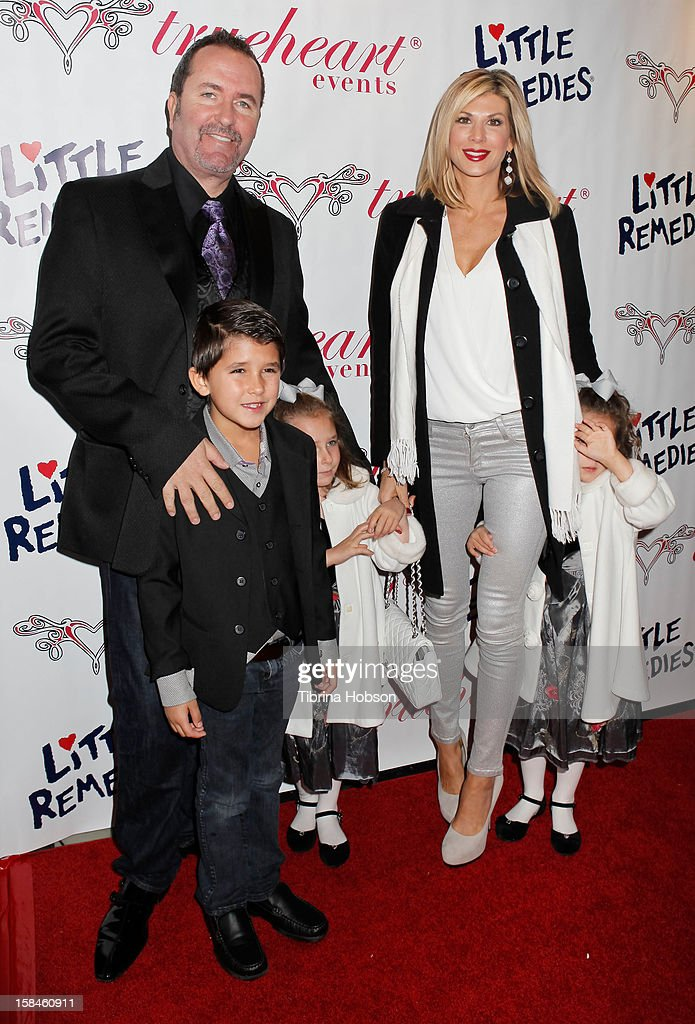 <a gi-track='captionPersonalityLinkClicked' href=/galleries/search?phrase=Alexis+Bellino&family=editorial&specificpeople=6544408 ng-click='$event.stopPropagation()'>Alexis Bellino</a>, Jim Bellino and their children attend the Truehearts winter wonderland charity gala, benefiting Children's Hospital Los Angeles at Avalon on December 16, 2012 in Hollywood, California.
