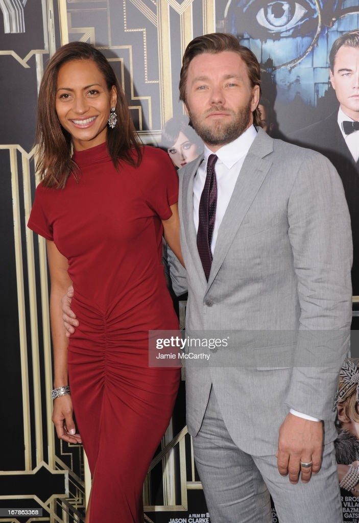 Alexis Blake and <a gi-track='captionPersonalityLinkClicked' href=/galleries/search?phrase=Joel+Edgerton&family=editorial&specificpeople=211291 ng-click='$event.stopPropagation()'>Joel Edgerton</a> attend the 'The Great Gatsby' world premiere at Avery Fisher Hall at Lincoln Center for the Performing Arts on May 1, 2013 in New York City.