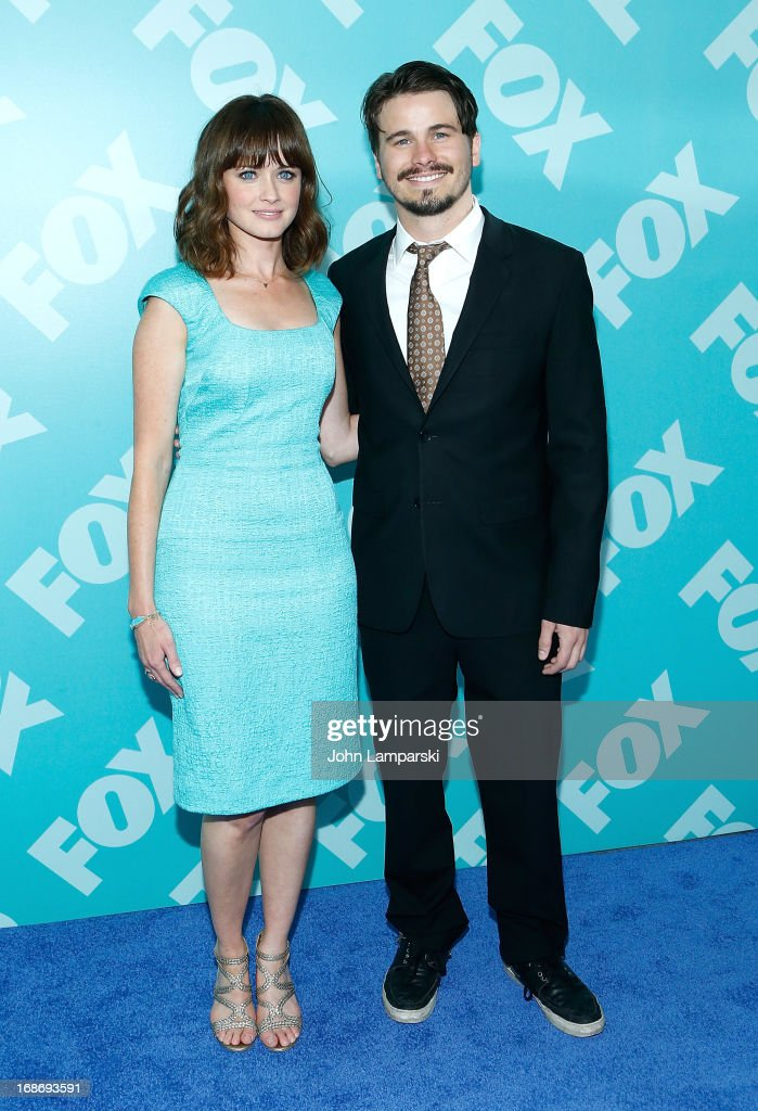 Alexis Bledel and Jason Ritter attend the FOX 2103 Programming Presentation Post-Party at Wollman Rink - Central Park on May 13, 2013 in New York City.