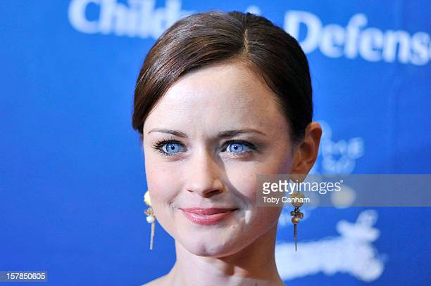 Alexis Bledel arrives for the Children's Defense FundCalifornia 22nd Annual 'Beat the Odds' Awards at Beverly Hills Hotel on December 6 2012 in...