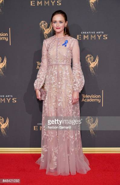 Alexis Bledel attends day 2 of the 2017 Creative Arts Emmy Awards on September 10 2017 in Los Angeles California