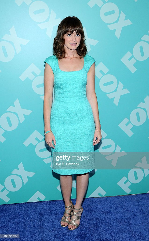 Alexis Bledel attends FOX 2103 Programming Presentation Post-Party at Wollman Rink - Central Park on May 13, 2013 in New York City.